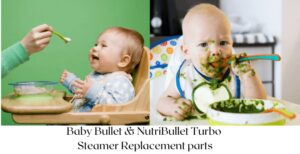 Baby Bullet & NutriBullet Turbo Steamer Replacement parts